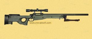 L96A1 sniper rifle with Scope and Bipod(WELL MB01C)